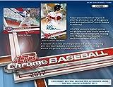 2017 Topps Chrome Baseball Hobby Edition Factory Sealed 24 Pack Box - Fanatics Authentic Certified - Baseball Wax Packs