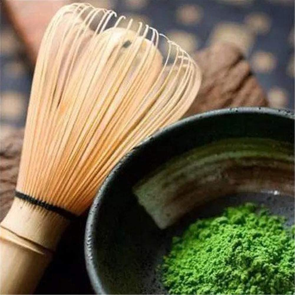 Namgiy D/éfinit /à th/é en bambou Th/é Matcha Fouet en bambou Brosse /à matcha Ensemble de th/é C/ér/émonie Chasen