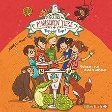 Top oder Flop! (Die Schule der magischen Tiere 5) Hörbuch von Margit Auer Gesprochen von: Robert Missler