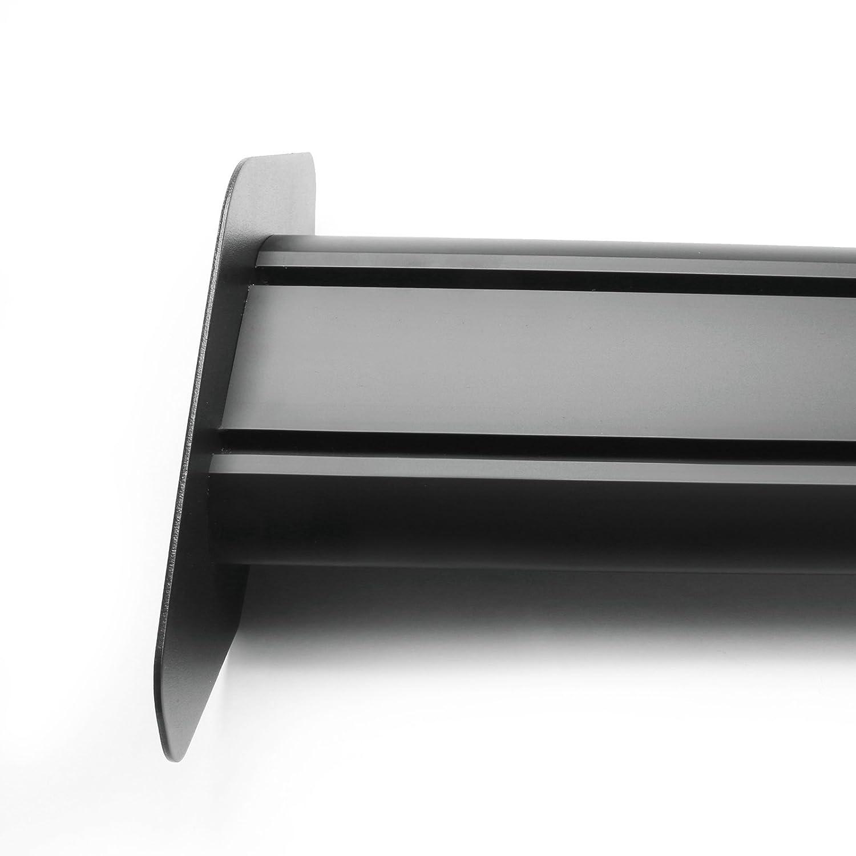 Silver Areyourshop 135cm Universal Hatch Adjustable Aluminum GT Rear Trunk Racing Spoiler Wing