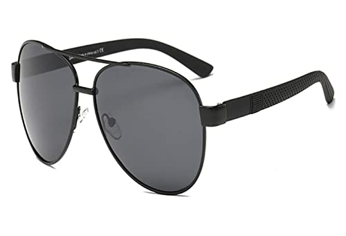 1d11f1d5a4a SARA Polarized Sunglass Protect Eyes from UVA UVB Rays Aviator Men and  Women Black