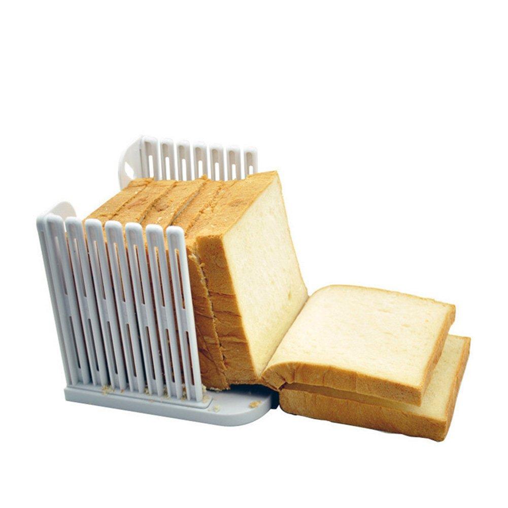 1Pc Multifunction Kitchen Bread Loaf Slicer Slicing Mould Cut Slices Guide Cutter Tool Zhi Jin