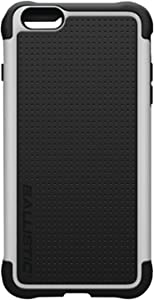 Ballistic TJ1428-A08C Tough Jacket Case for Apple iPhone 6 Plus and iPhone 6s Plus - Retail Packaging - Black/White