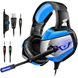 Gaming Headset for PS4, PC, Xbox One(Adapter Needed), ONIKUMA Noise