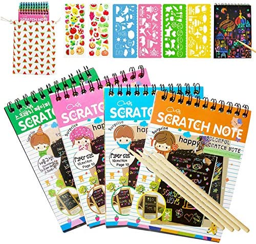 Scratch Notebooks Rainbow Papers Styluses product image