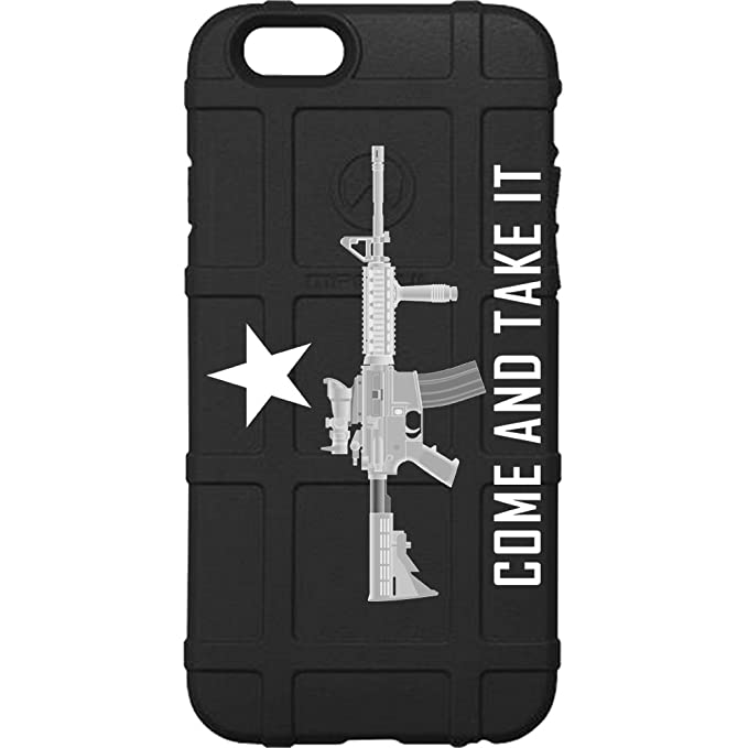 promo code 3a07e 8fe1e Limited Edition Authentic Made in USA Magpul Industries Field Case for  Apple iPhone 7 Plus, 8 Plus, 7+, 8+ (Plus Size) by EGO Tactical (Come and  Take ...
