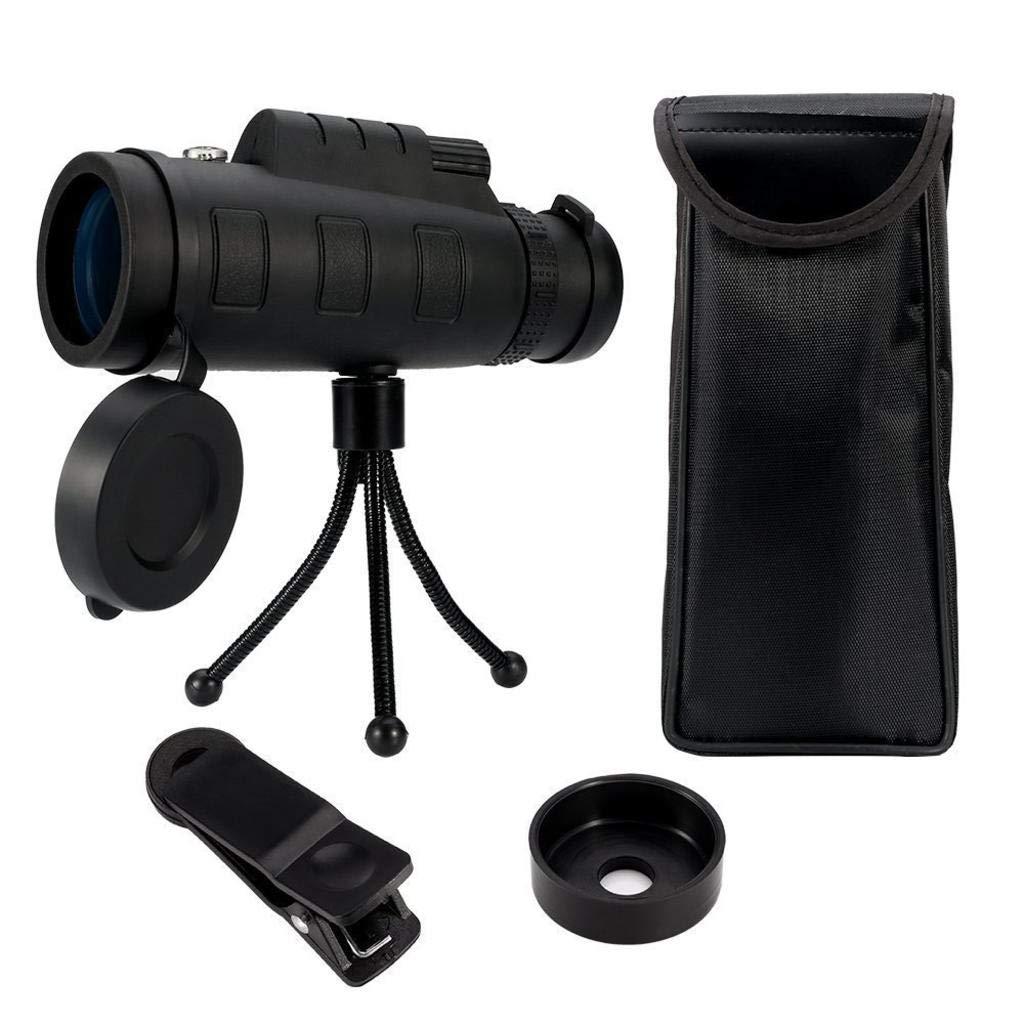 【超特価SALE開催!】 MODKOY 単眼鏡 望遠鏡 ポータブル 35X50 ハイパワー 単眼鏡 BAK4 マルチコーティング ズームレンズ 写真カメラ 高倍率 HD 窒素充填 防水 携帯電話 写真カメラ 望遠鏡 ポータブル コンパクト 単眼鏡 (ブラック) B07H8KXNH7, マルヤママチ:102480c7 --- a0267596.xsph.ru