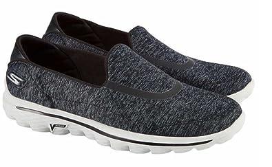 Best Selling Womens Skechers GOwalk 4 All Day Comfort Walking Sneaker Black/Gray Heather Womens Black/Gray Heather Skechers Womens Skechers