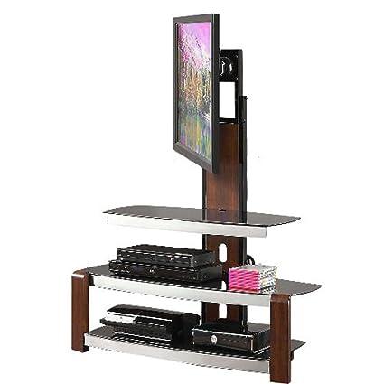 Amazoncom Flush Mount Tv Stand Swivel Mounting Bracket Corner