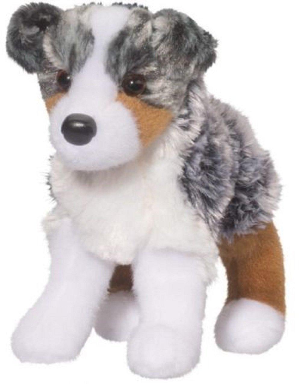 Douglas Cuddle Toys Steward Australian Shepherd Dog #4019 Stuffed Animal Toy