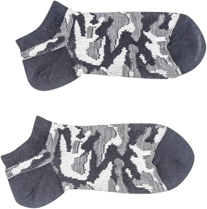 Sylar Calcetines Tobilleros Hombre Vintage Calcetines Cortos Invisibles Para Mujer Y Hombre Camuflaje Unisex Calcetines De Algodón Transpirables Antideslizantes Respirable Calcetines(1 Par): Amazon.es: Ropa y accesorios
