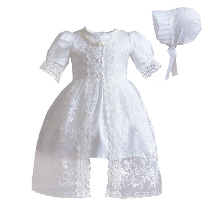 Amazon.com: Romping House - Vestido de bautizo para niña (3 ...