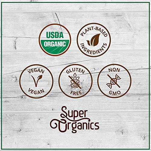 Super Organics Beauty Boost Green Tea Pods With Superfoods & Probiotics   Keurig K-Cup Compatible   Beauty Tea, Skin Care Tea   USDA Certified Organic, Vegan, Non-GMO Natural & Delicious Tea, 72ct by Super Organics (Image #6)