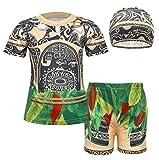AmzBarley Maui Little Boys' 2 Piece Swimwear Bathing Suit Age 1-2 Years Size 3T