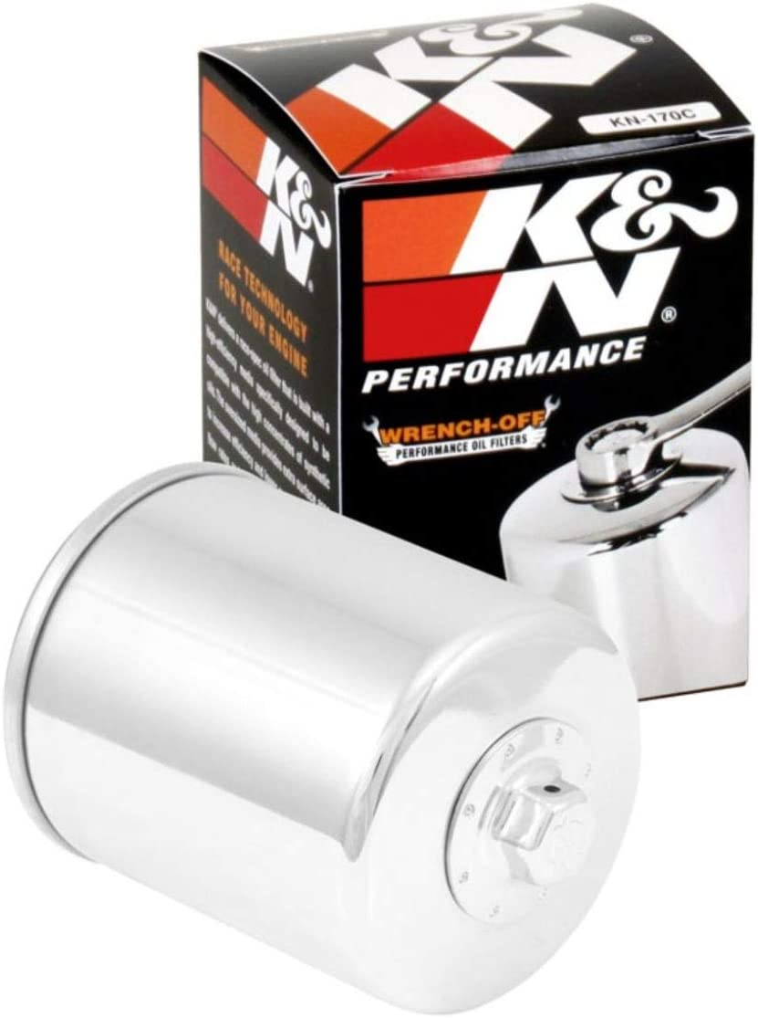 K&N Motorcycle Oil Filter: High Performance, Premium, Designed to be used with Synthetic or Conventional Oils: Fits Select Harely Davidson Motorcycles, KN-170C: Automotive