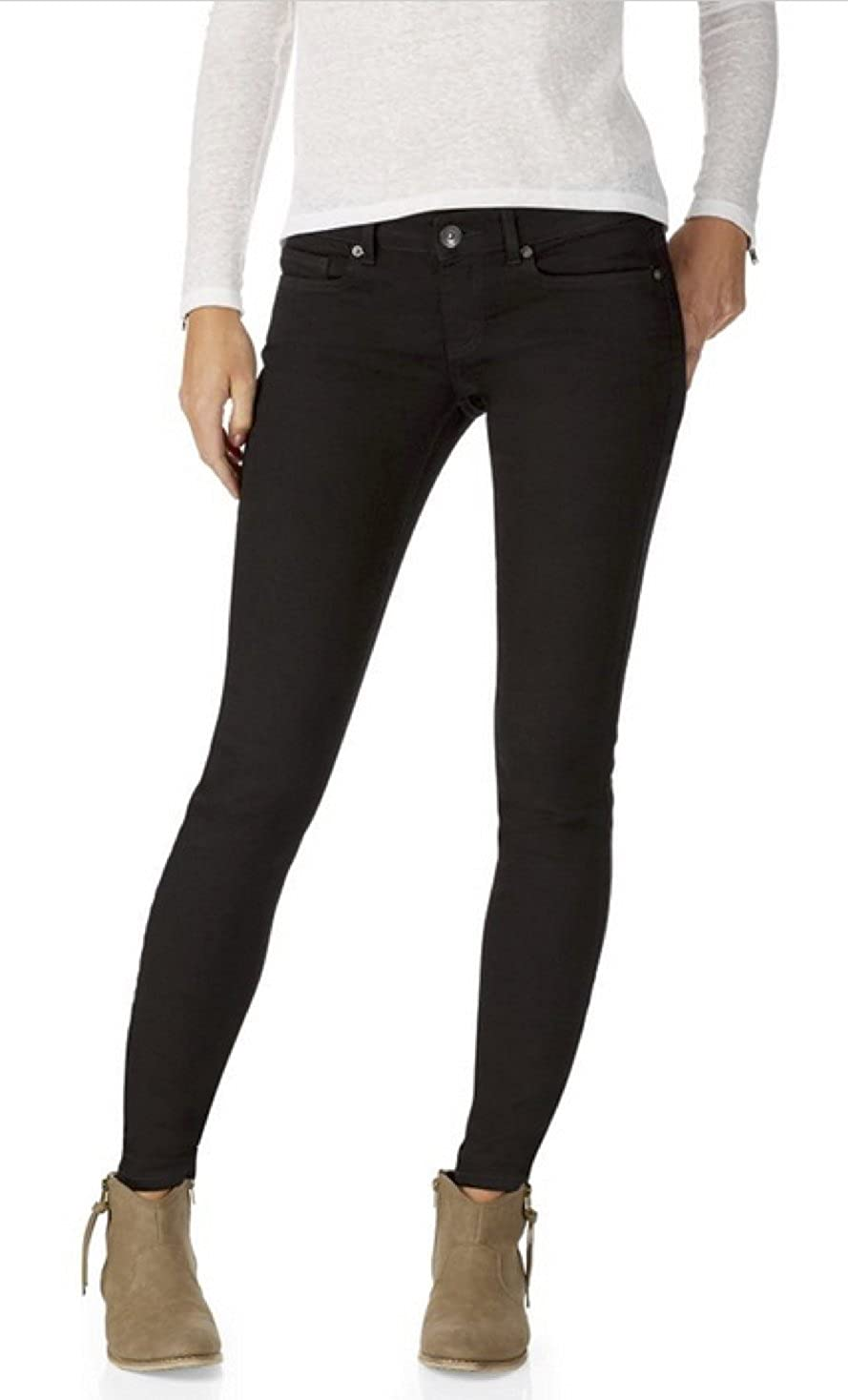 Aeropostale Pantalones Vaqueros Para Mujer Color Negro 10 Corto Negro Clothing Amazon Com