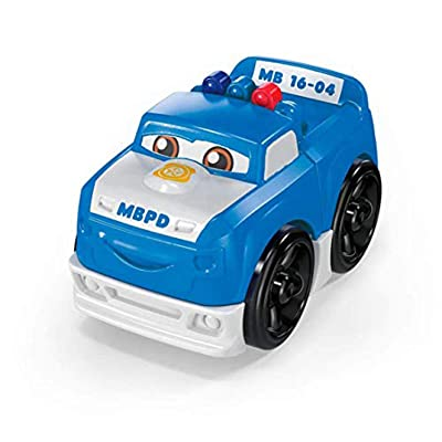 Mega Bloks Police Pickup Building Set: Toys & Games
