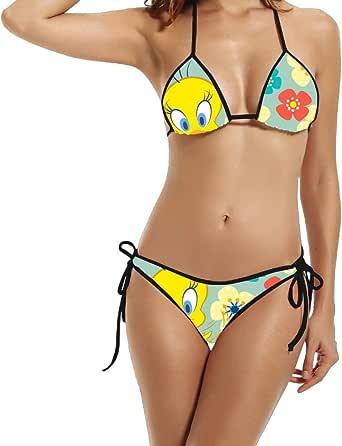 bird tweety Bikini lady