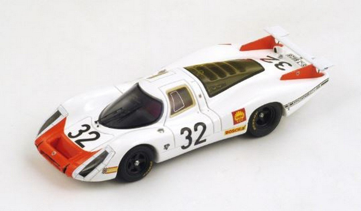 Spark Model S3482 Porsche 908 N.32 33th LM 1968 G.MITTER-V.ELFORD 1:43 Die Cast
