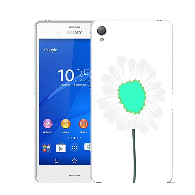 Carcasa para Sony Xperia Z1 - Aqua Daisy de flores de fénix ...