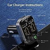 Bluetooth FM Transmitter - RAXFLY Bluetooth Car