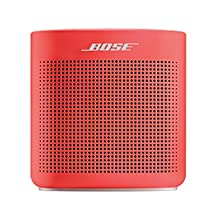 Bose Sound Link Color Bluetooth Speaker II, Coral Red