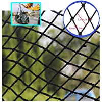 Children Balcony/Stairway/Patio Railing Safety Net BHH Black Children Safe Net, Toys Pets Protective Netting Climbing Woven Rope Truck Cargo Trailer Decor Decoration Mesh, Railings Stairs Patios Balco