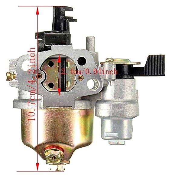 LIYYOO 16100-ZH8-W61 Kit de carburador Incluye Filtro de ...