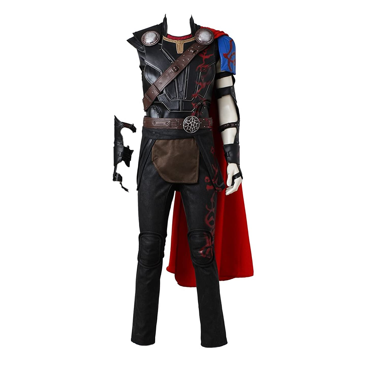 CosplayDiy Men's Suit for Thor 3 Ragnarok Thors Cosplay Costume