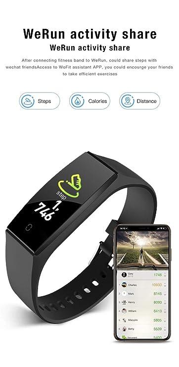 Fitness Tracker, reloj inteligente a prueba de agua IP67 con ...