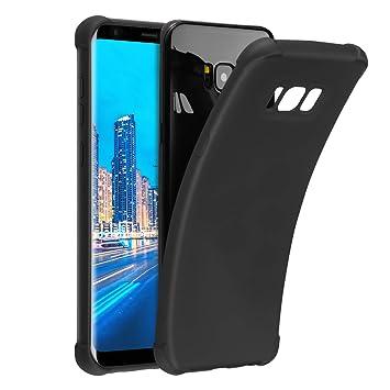 CRXOOX Funda para Samsung Galaxy S8, TPU Carcasa,Resistente a Golpes,Arañazos,Silicona Cover para Samsung Galaxy S8