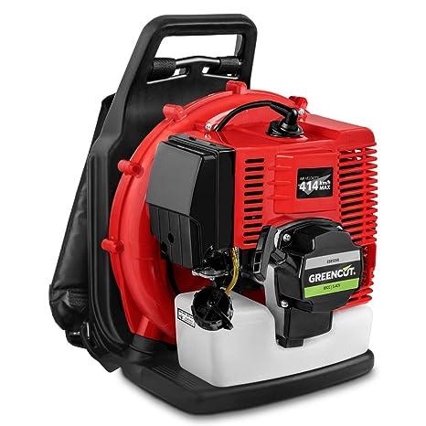 Greencut EB900 - Soplador de hojas con motor de gasolina de 85cc y ...