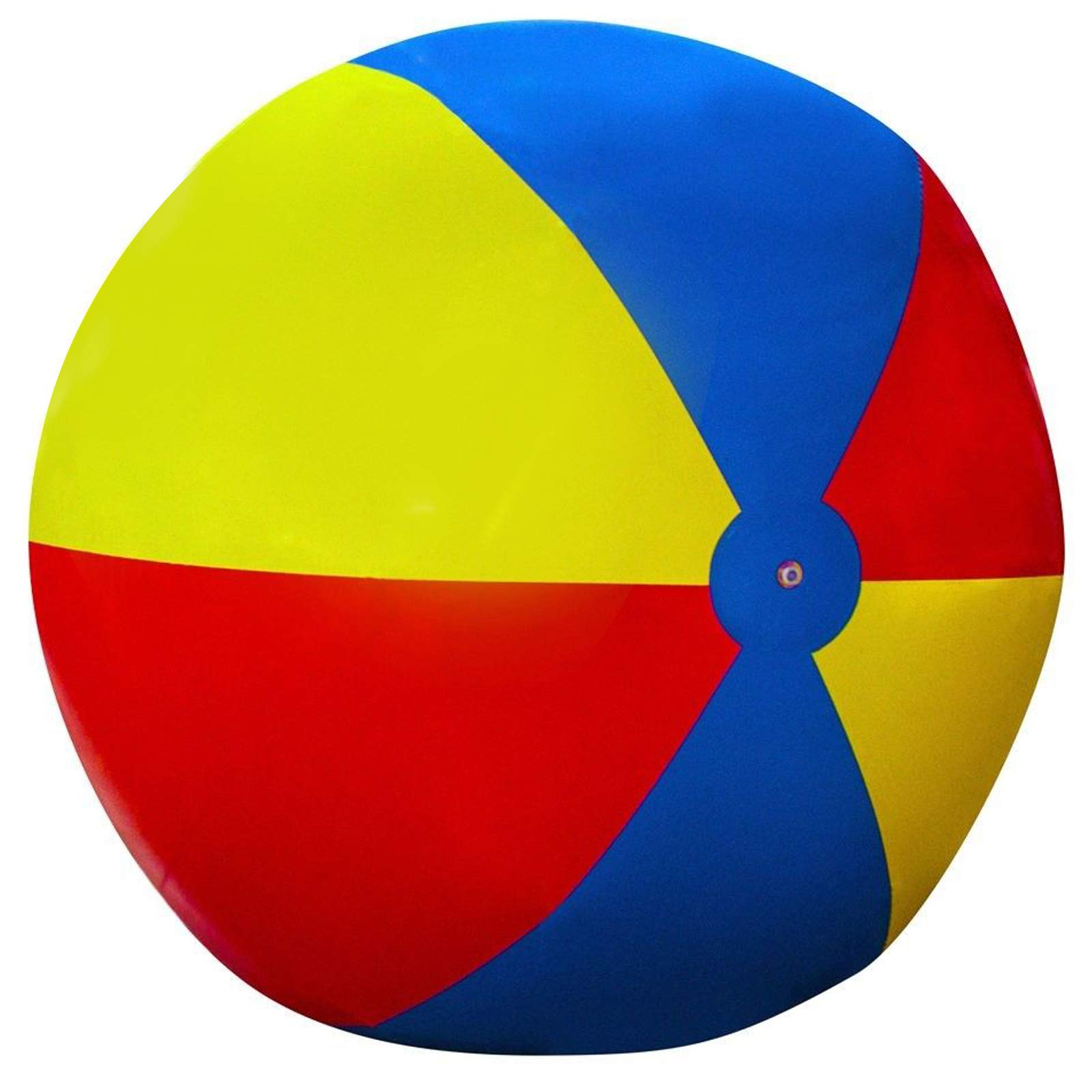 Happibuy Giant Beach Ball 6 ft / 8 ft Diameter Extra Large Inflatable Beach Ball Pool Toy Jumbo Beach Ball (8' Beach Ball) by Happibuy