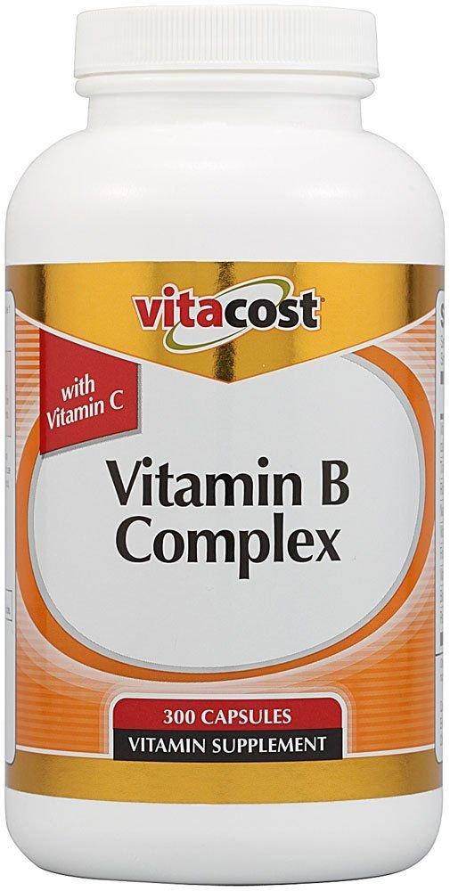 Vitacost Vitamin B Complex With Vitamin C — 300 Capsules