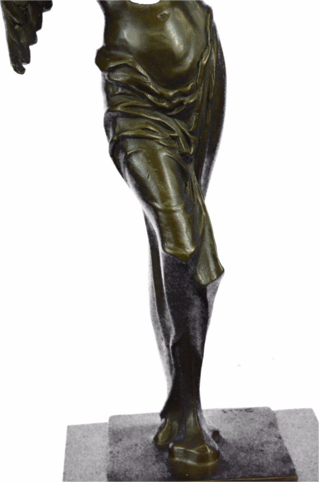 Handmade European Bronze Sculpture Salvator Dali Surrealistic Angel Abstract Modern Art Art Bronze Statue -UKXN-2546-Decor Collectible Gift by Bronzioni (Image #9)