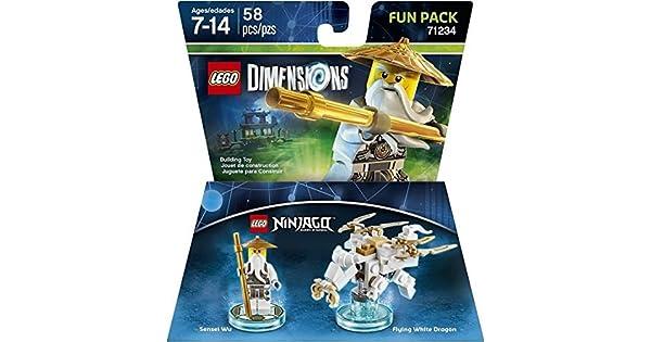 Ninjago Sensei Wu Fun Pack - LEGO Dimensions by Warner Home Video ...