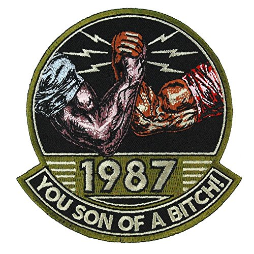 You Son of a Bitch! 1987 Embroidered Patch
