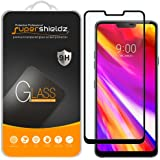 (2 Pack) Supershieldz for LG G7 ThinQ Tempered Glass Screen Protector, (Full Cover) (3D Curved Glass) Anti Scratch…