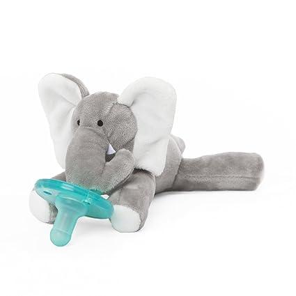 Amazon.com: Chupete de elefante WubbaNub: Baby