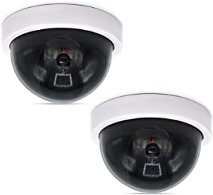 WALI Dummy Fake Security CCTV Dome Camera (SDW-2)