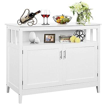 White Kitchen Cabinets Amazon Com