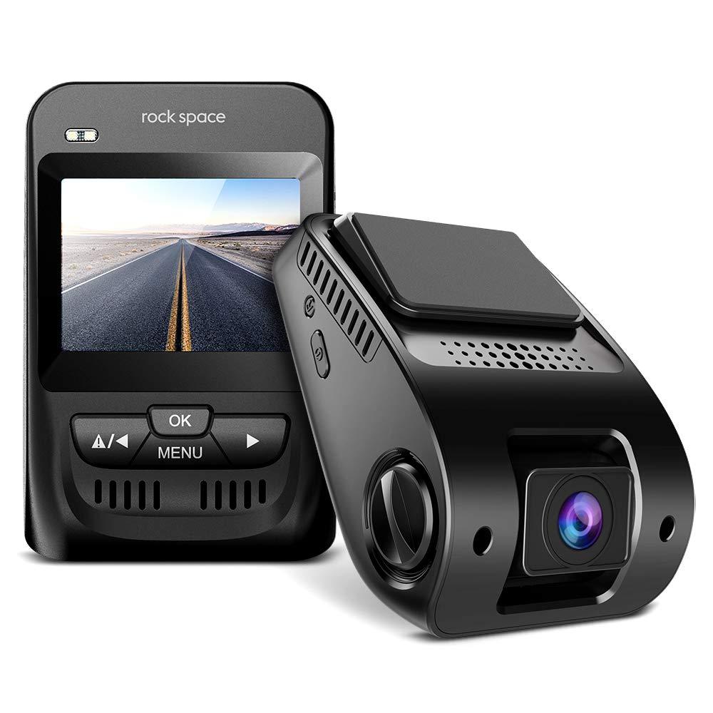 "Dash Cam- 1080P FHD Car Camera 2.3"" LCD Screen 150°Wide-Angle Car DVR with Sony Image Sensor, WDR, HDR, G-Sensor, Super Night Vision, Loop Recording,Emergency Recording, Black"