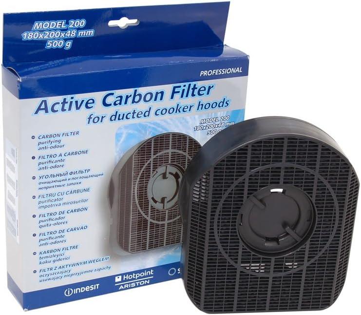 INDESIT Campana extractora de carbón Filtro de carbón: Amazon.es: Grandes electrodomésticos