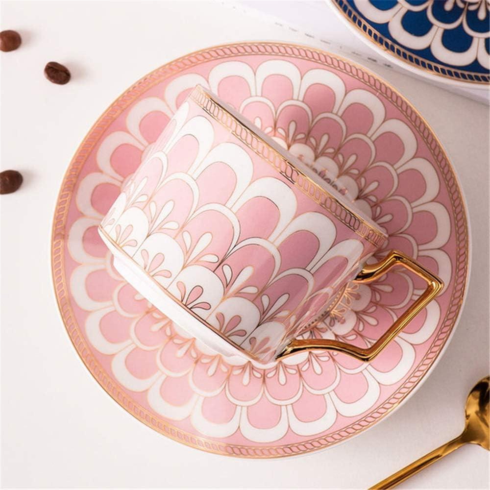 Taza de té rosa