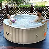 Goplus 4 Person Portable Inflatable Hot Tub for Outdoor (Small Image)