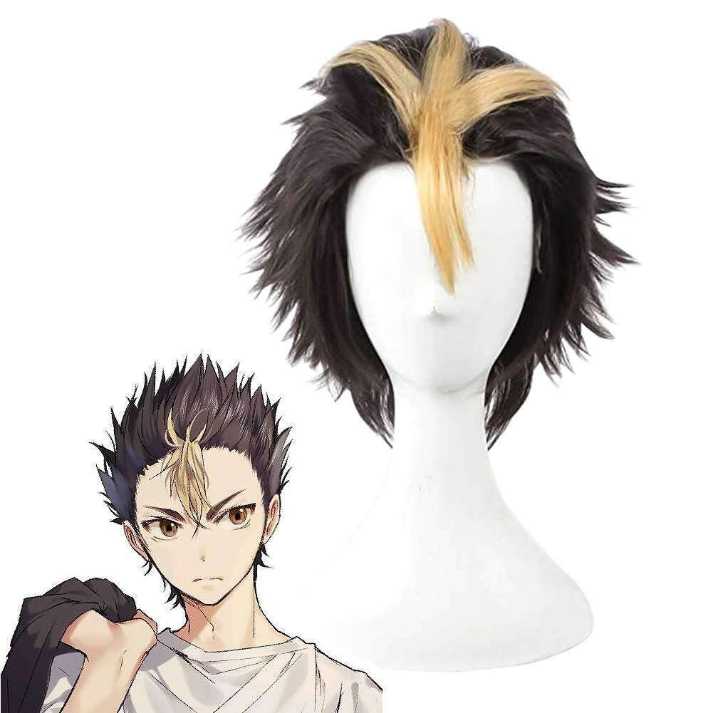 Haikyuu! Haikyu! Nishinoya Yuu Cosplay Wig