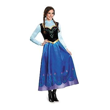 Disfraz de Anna Frozen Prestige para Mujer: Amazon.es: Juguetes y ...