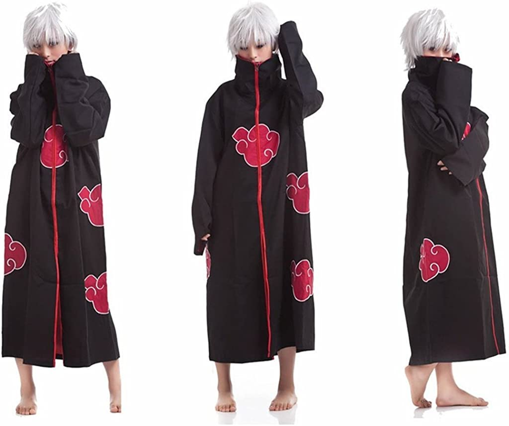 HiRudolph Cosplay Akatsuki Orochimaru Uchiha Madara Sasuke Itachi Costume Cloak Uniform