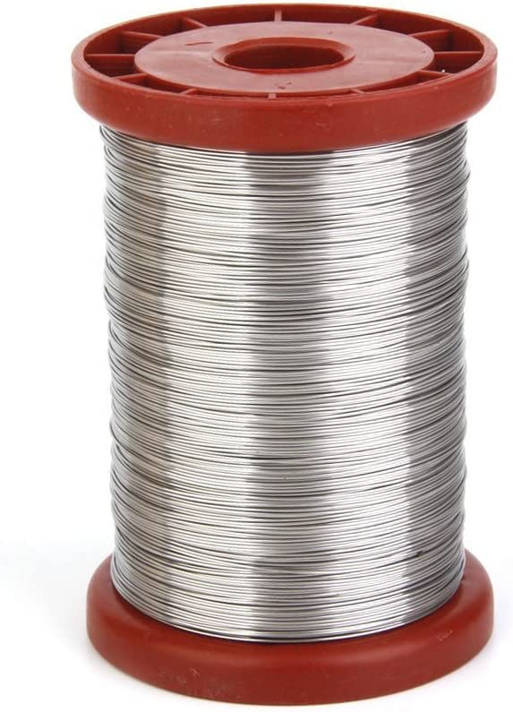 VORCOOL 0.5mm 500G Stainless Steel Wire for Hive Frames Beekeeping on austenitic stainless steel, tool steel, stainless steel wire management, carbon steel, stainless steel outlet, bessemer process, weathering steel, stainless steel piping, stainless steel ceiling, stainless steel connectors, stainless steel guy wire, stainless steel components, cold-formed steel, stainless steel braided lines, stainless steel fittings, stainless steel battery, alloy steel, stainless steel plug cap, stainless steel panels, stainless steel harness, stainless steel metal roof, stainless steel brakes, stainless steel plumbing, stainless steel adapters, martensitic stainless steel, stainless steel soap, maraging steel, polyvinyl chloride, stainless steel resistors, stainless steel cable hangers, stainless steel paint job, surgical stainless steel,