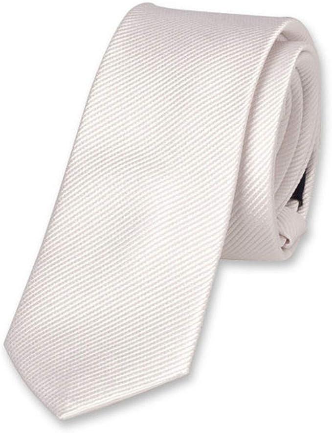 Accessoirespezialist.de Corbata para niños de alta calidad blanca ...